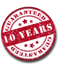 10 year guarantee on all Secondary Glazing