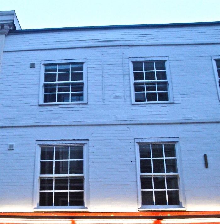 Period Property With Vertical Sash Secondary glazing