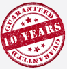 10 year guarantee on all Secondary Glazing windows